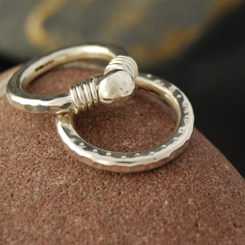 Gold Nugget Wedding Rings 56 Lovely They looked really good